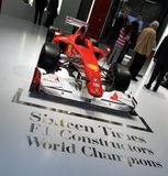 för formelgeneva för 2010 f10 ferrari show motor en Royaltyfria Bilder