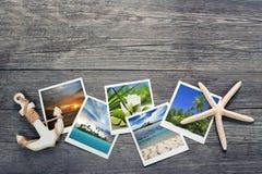 för fotovykort för liggande medelhavs- lopp Arkivbild