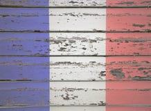 för france för tillgänglig flagga vektor glass stil Royaltyfri Fotografi