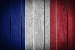 för france för tillgänglig flagga vektor glass stil Royaltyfria Bilder
