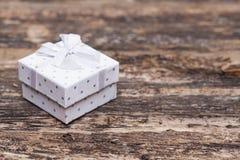 för gåvabild för ask 3d white Royaltyfria Foton