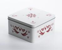 för gåvabild för ask 3d white Royaltyfri Fotografi