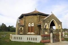 för galle för kyrkogårdkapell kristen sri lanka arkivfoton
