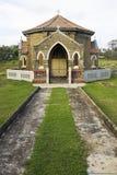 för galle för kyrkogårdkapell kristen sri lanka royaltyfri foto