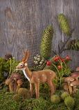 för garneringdruvor för höst kastanjebrunt för oktober trä pomegranate Arkivbilder