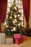för garneringillustration för jul 3d tree Royaltyfri Bild