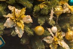 för garneringillustration för jul 3d tree Royaltyfri Fotografi
