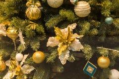 för garneringillustration för jul 3d tree Arkivfoto