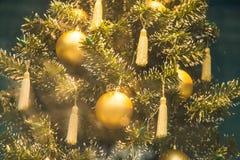 för garneringillustration för jul 3d tree Royaltyfri Foto