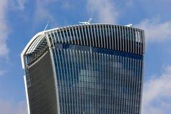För gata'walkie-talkie' för 20 Fenchurch byggnad - London Royaltyfri Fotografi