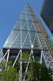För gatatorn för 122 Leadenhall byggnad i stad av london, UK Royaltyfri Bild