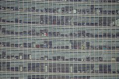 För gataWalkie för 20 Fenchurch kommersiell skyskrapa Talkie i stad av London arkivfoto