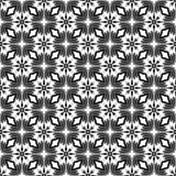 För geometrimodell för vektor modernt sömlöst pussel royaltyfri illustrationer