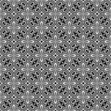 För geometrimodell för vektor modernt sömlöst pussel stock illustrationer