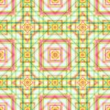 För geometrisk tapet för vektor bakgrundsfärg för fyrkanter söt Arkivfoto