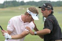 för golfjacquelin för de france öppen national 2006 Arkivbilder