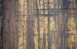 För golvbakgrund för tappning Wood textur Royaltyfri Bild
