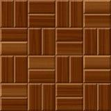 För golvtegelplattor för mörk brunt wood textur för modell sömlös vektor illustrationer