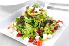 för grönsallatmix för gurka ny grönsak för tomat för sallad royaltyfri foto