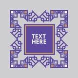 För gradbeteckningram för Retro design lyxig mall för logotyp Affärstecken, identitet för restaurangen, royalty, boutique, hotell Royaltyfri Fotografi