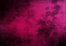 För grungeabstrakt begrepp för rosa färger svart bakgrund Royaltyfri Bild
