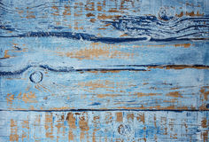 För grungeblått för tappning gammal bakgrund Arkivfoto
