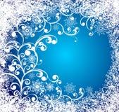 för grungevektor för bakgrund jul fryst fönster royaltyfri illustrationer