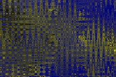 För guling-blått för Grunge kompletterande färgrik bakgrund toner vektor illustrationer