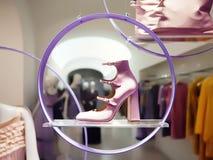 för häl pink high Royaltyfri Foto