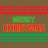 För hälsningkort för glad jul abstrakt begrepp Royaltyfri Bild