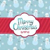 För hälsningkort för glad jul bakgrund. Arkivfoton