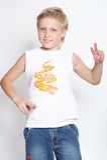 för härlighetstående för pojke elva år Royaltyfria Bilder