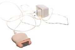 För hårborttagningsmedel för damtoalett elektrisk depilator för rakapparat royaltyfria bilder