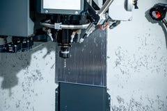 För hög-precision för spindel modern maskin för malning CNC Arkivfoto