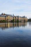 för haagNederländerna för håla holländsk parlament Fotografering för Bildbyråer