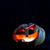 för halloween för dator 3d mörk frambragd pumpa bild Royaltyfri Bild