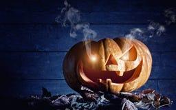 för halloween för dator 3d mörk frambragd pumpa bild Royaltyfria Foton