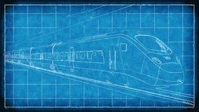 för hastighetsdrev för begrepp hög isolerad white royaltyfri illustrationer