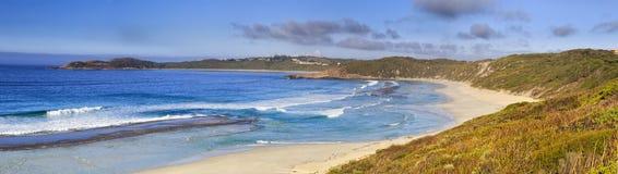 För havsdag 01 för WA Esperance panorama Arkivfoto