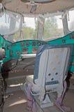 för helikoptermil för 12 cockpit navigatör s v Arkivfoton