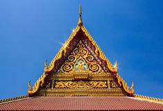 För himmeltempel för buddistisk tempel gavel Royaltyfri Bild