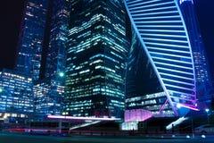 För hipsterstil för tappning retro effekt filtrerad bild av Moskva ner Royaltyfri Bild