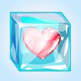 is för hjärta 3d Royaltyfria Bilder