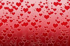 för hjärtahjärtor för bakgrund dunkla bilder Royaltyfria Foton