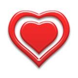 för hjärtahjärtor för bakgrund dunkla bilder Royaltyfria Bilder