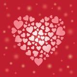 för hjärtahjärtor för bakgrund dunkla bilder Arkivfoton