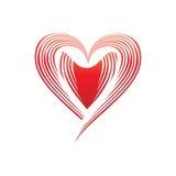 för hjärtaillustration s för dag lycklig valentin Royaltyfria Foton