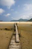 för Hong Kong för strand härlig sai kung Royaltyfri Bild