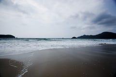 för Hong Kong för strand härlig sai kung Royaltyfri Fotografi