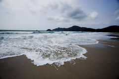 för Hong Kong för strand härlig sai kung Royaltyfria Bilder